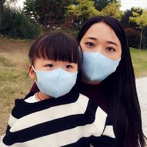 儿童夏季薄款宝宝成人立体口罩一次性防晒雾霾PM2.5尘花粉50片