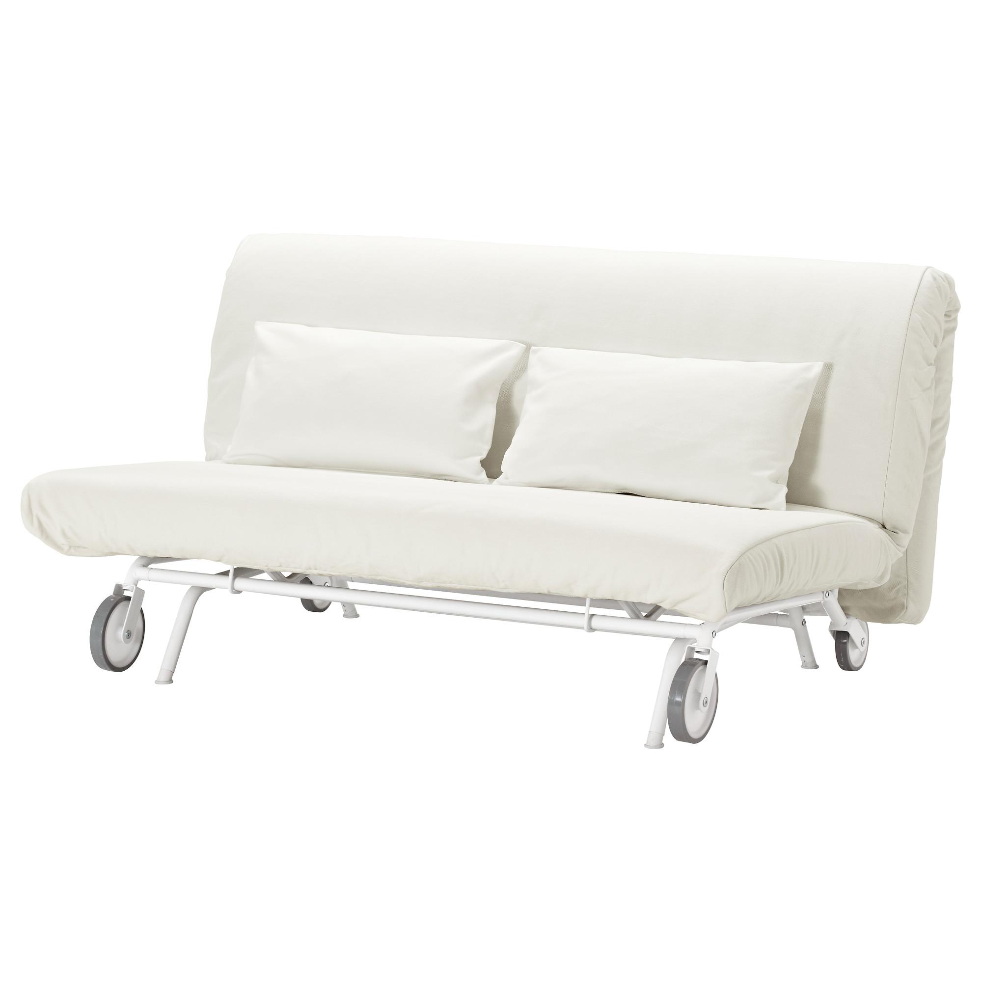 Εσωτερική αγορά IKEAPS IKEA χα Witte καναπέ - κρεβάτι σκανδιναβικές