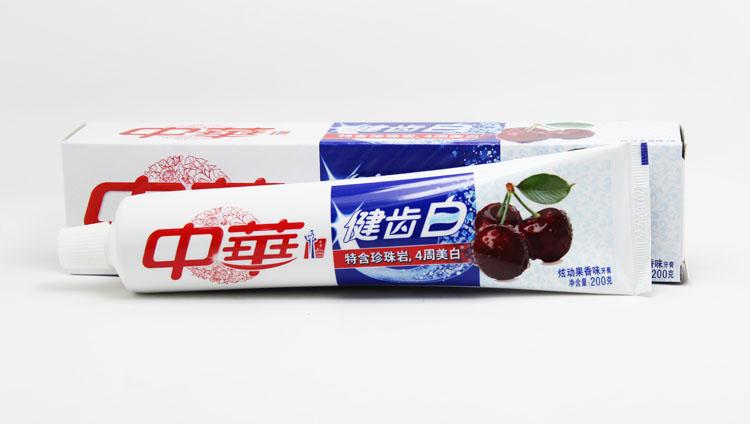 hambapasta, hiina 200g*4 hõlmab posti telekanal valge puu - ja hammaste kaks vabatahtlikku / piparmündi)