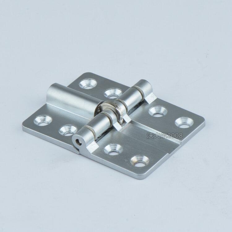 Germany quality folding door hinge hinge pulley accessories, wooden door turn over plate, bright hinge, sliding door thickening Edition
