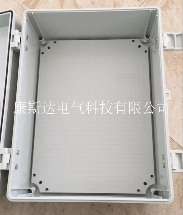 Hinge type high-end control box plastic IP65 anti tank fire retardant 200*300*170 outdoor wiring distribution box