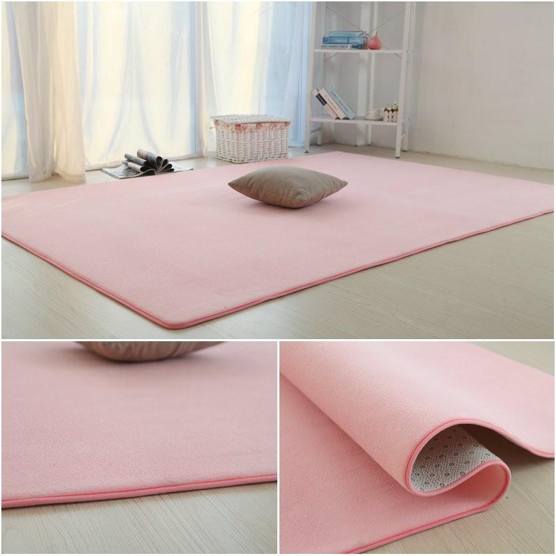 Large tatami floor mats all-match Japan child table room Home Furnishing solid rectangular slip flow
