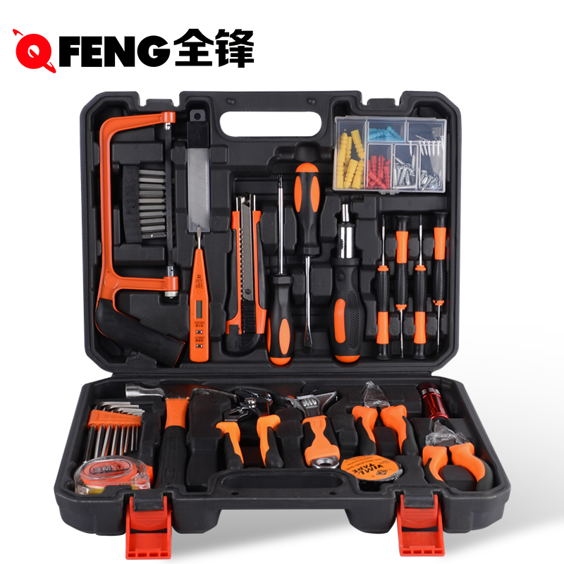 Multi function combination tool set, hand tools, home decoration, German vehicle home hardware toolbox Kit