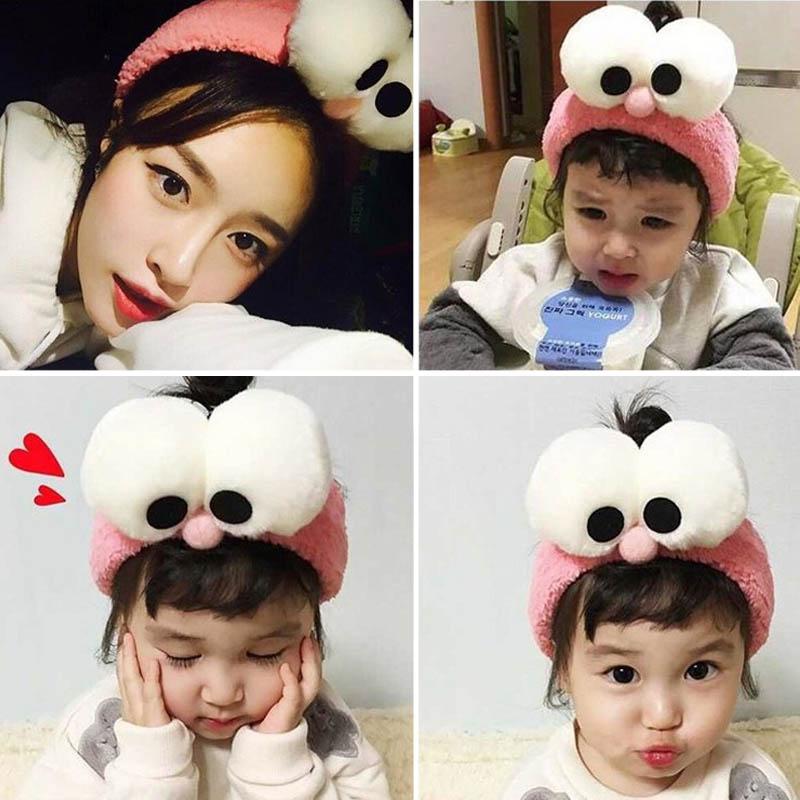 Big eyes of rabbit ears with makeup face headband fox with a hoop Tan Songyun Li summer feast book
