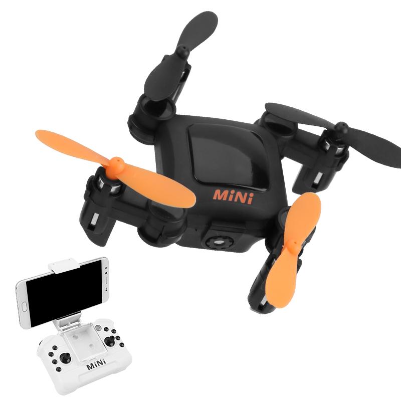 Mini UAV HD Aerial Aircraft Маленький профессиональный вертолет для вертолетов самолетов Сверхмаленький четырехосный пульт дистанционного управления