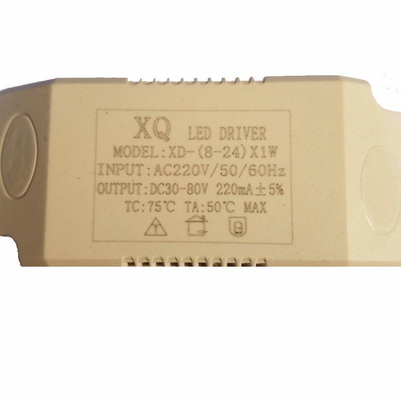 ledDriver felső vezetés az izallobarikus 8-12-24-36W 顶灯 - előtét ovális áramszabályozó