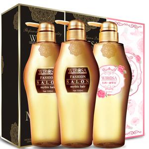 香水洗发水护发素沐浴露洗护三件套装家庭装女香味持久留香无硅油