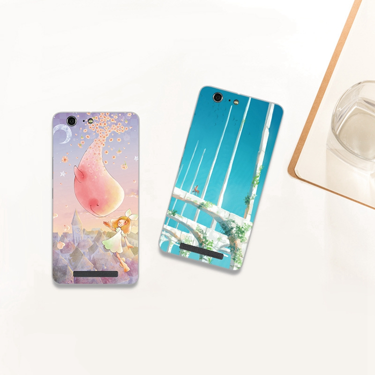 Jin M5 mobile phone shell cartoon M5 silicone ultra-thin soft shell mobile phone protection shell fashion tide Jin