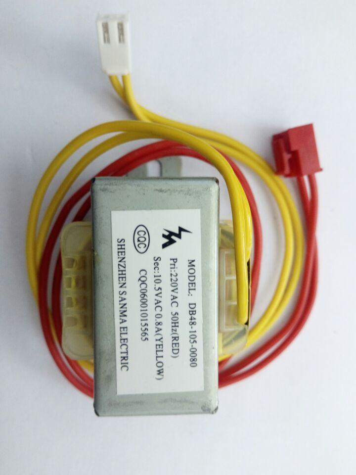 Không khí có thể biến áp đường dây nóng máy biến áp 10.5VAC-0.8A tấm bảng điều khiển máy biến áp
