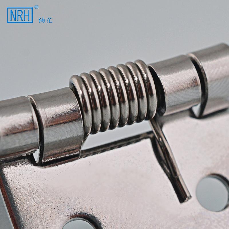 NRH/ nahui Mola de aço inoxidável dobradiça de fecho automático dobradiça, caixa de presente pacote -8665 pequenas caixas de Madeira