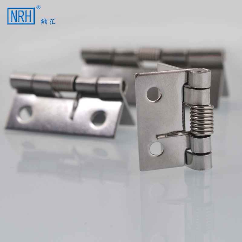 NRH/ stainless steel spring hinge hinge automatic closing box, wooden box, small hinge -8665