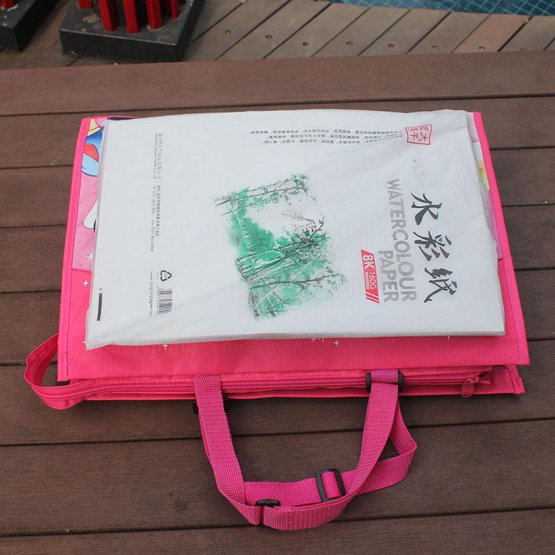 Bambini tutoraggio borsa borsa 8K disegnare sacchetto di scuola primaria studenti A3 cartella arte borsa schizzo pacchetto pacchetto pacchetto di pianoforte