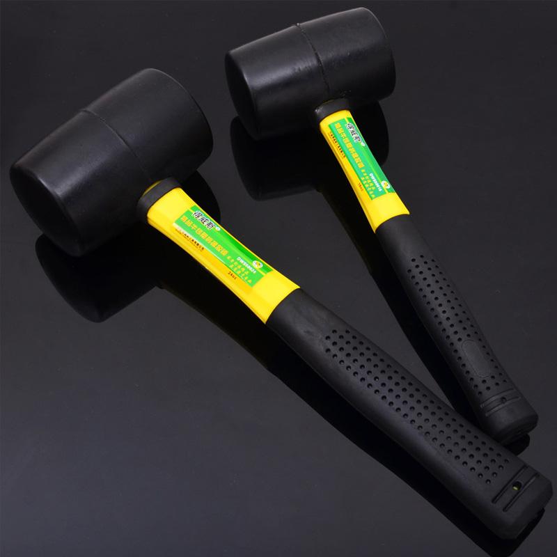 резиновый молоток резиновый молоток ручки DIWELLS волокна кожи молоток полы мраморные плитки установки молоток супер стирания