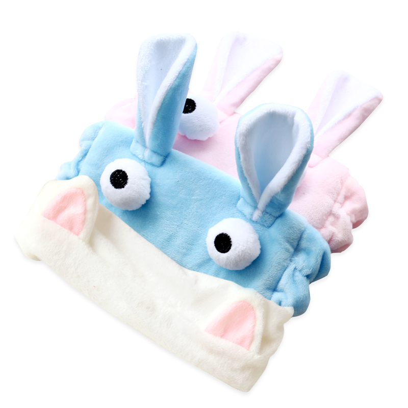 Cute face hair turban headdress headgear headband simple Korean female cat rabbit ears Headband