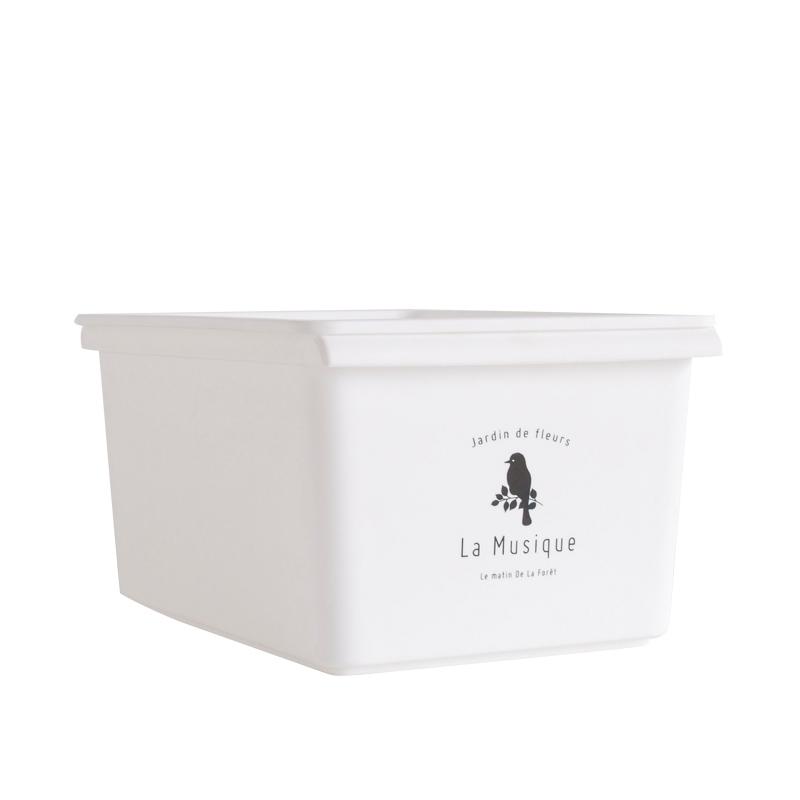 โพลีพลาสติกมีฝาเดิมน่ารักรวมกล่องของเล่นกล่องเก็บของกล่องเก็บของกล่องบรรจุเสื้อผ้า 4