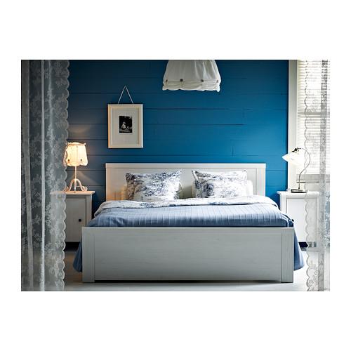 Нинбо шанхай IKEA 布鲁萨里 Кровать двуспальная кровать с статья именно