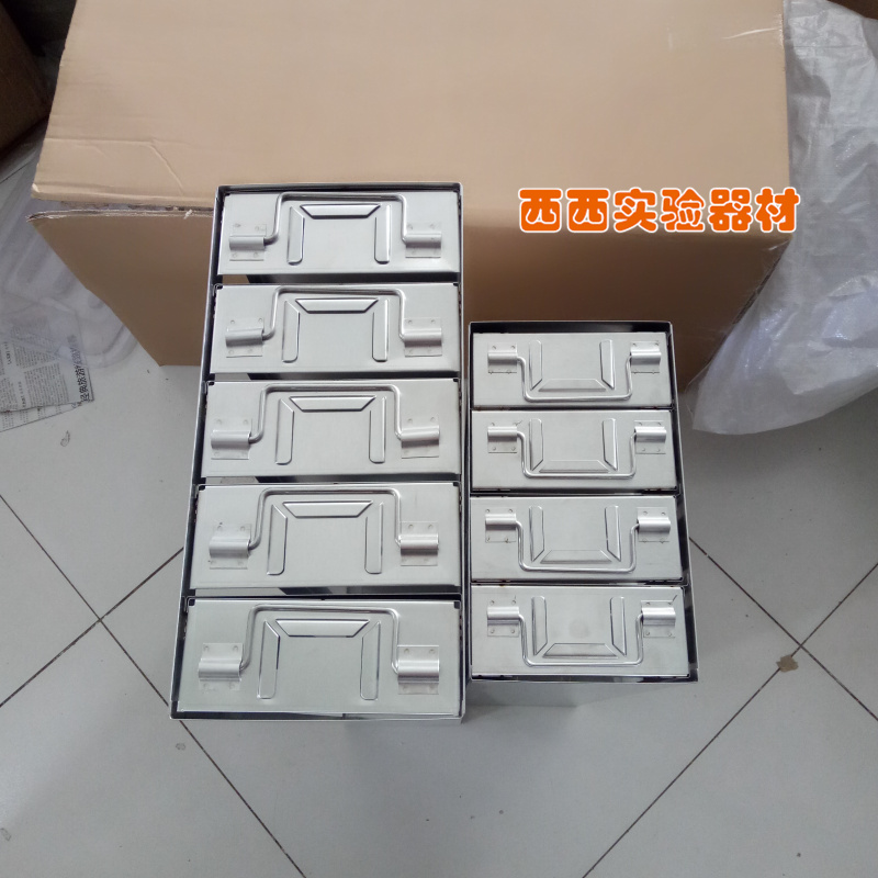 Stainless steel tube stainless steel tube shelf box frozen frozen box drawer type refrigerator shelf single type can be customized