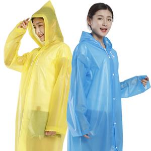 徒步户外登山旅行半透明韩版男女通用雨衣套装非一次性雨衣包邮
