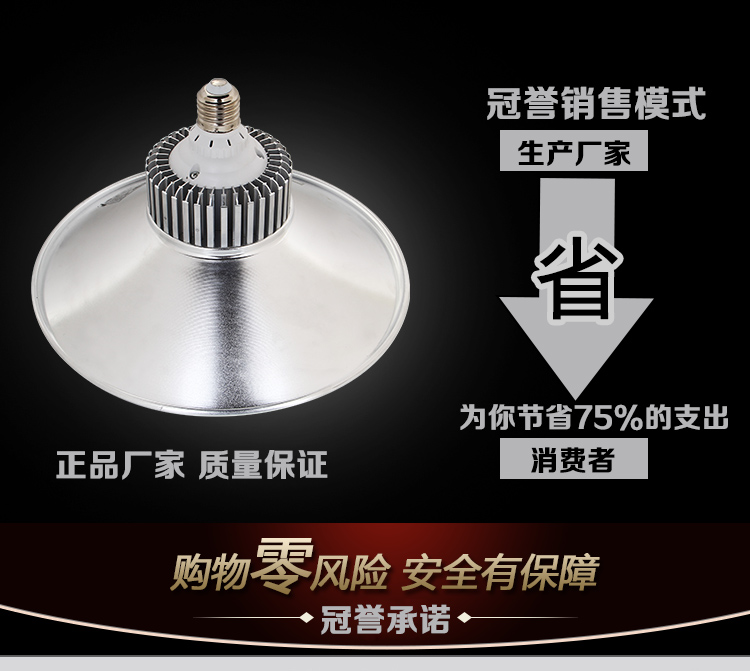 60W100W explosion proof led industrial and mining lamp factory building, lamp pendant lamp factory workshop lighting lamp warehouse ceiling lamp