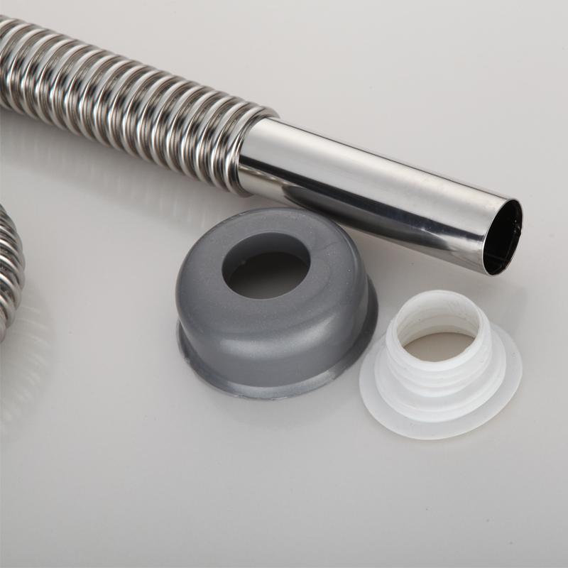 El baño de acero inoxidable de alta calidad en la cuenca de fuelles de lavabos y tubos de alcantarilla de drenaje