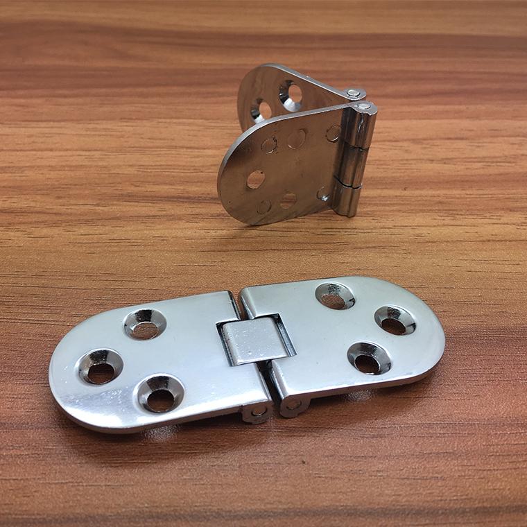 亜鉛合金翻板ヒンジ折り畳みテーブル部品円卓翻板ヒンジ食卓テーブル翻ヒンジ光板