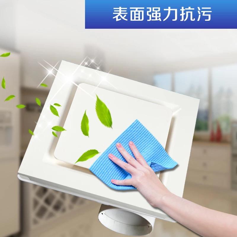 ο ανεμιστήρας ψύξης ενσωματωμένο στην κουζίνα τουαλέτα ολοκληρωμένη ανώτατο όριο του ανεμιστήρα μουγκός εξαερισμό εξαερισμός