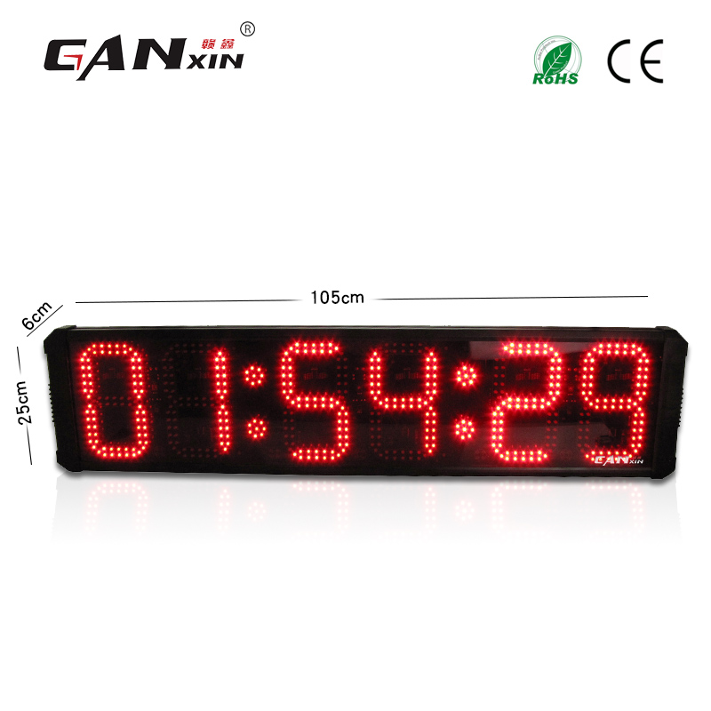 8 inch and half outdoor waterproof LED competition timing sports stopwatch timing equipment