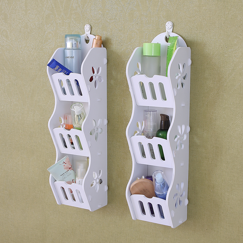 Free hanging wall wall drilling accessories rack frame wall wall wall with simple structure and creative living room TV