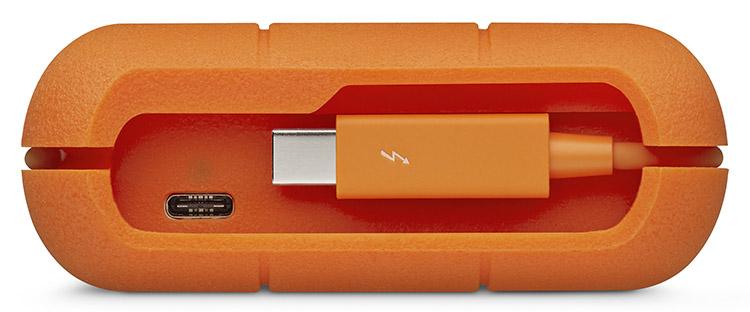 LaCieRugged4TB2.5 zentimeter /USB-C/3.1/3.0 mobile festplatte MIT blitz - 4