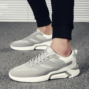 【WF】春夏季新款韩版潮流板鞋运动休闲跑步ulzzang网面老爹男鞋