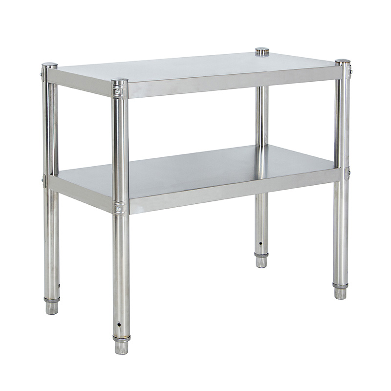 Package stainless steel kitchen shelf, 2 layer microwave oven, pan frame, double deck rack, seasoning rack customized