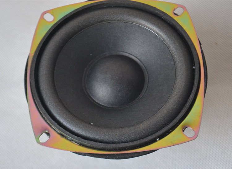 Disassemble the new 4 inch SUBWOOFER SPEAKER 6 Euro 20 Watt 20W subwoofer dual magnetic speakers shipping