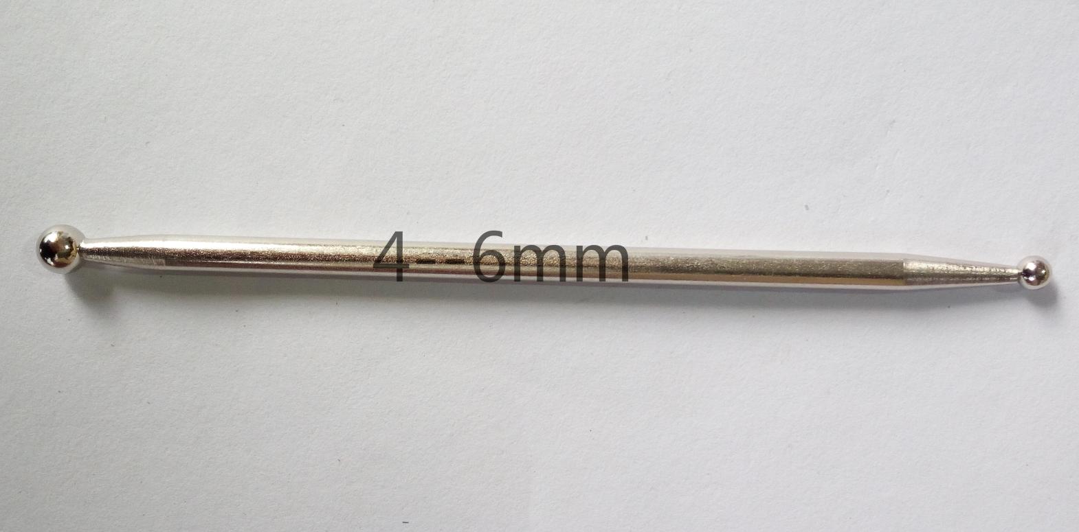 La costura simple envasado cuatro bolas de borde de la bola de acero con aleación de acero doble pistola de pegamento para limpiar la costura cono