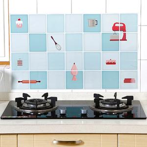 他他库 3个装厨房墙面防污贴易清洁防污贴厨房防油渍贴护墙贴纸
