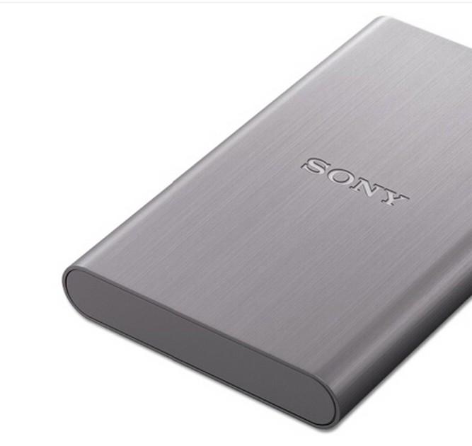 Sony/ Sony mobile festplatte verschlüsselt, 1tHD-E1 hochgeschwindigkeits - USB - 3.0 - Metall - gehäuse.