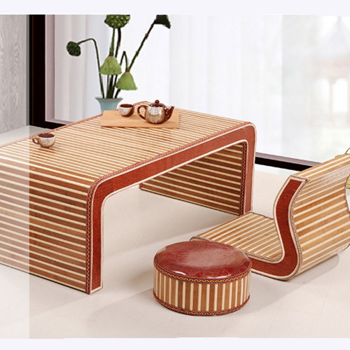 Folding desk bed Piaochuang tea firm lazy bag mail wood table tatami Ancient Chinese Literature Search learning computer desk