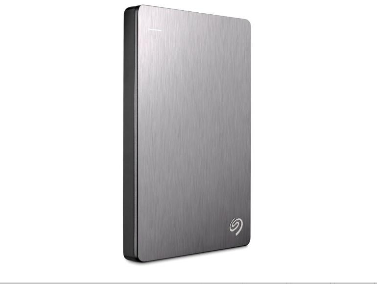 Seagate BackupPlus Rui produit 1TBUSB3.02.5 pouces disque dur mobile la lune d'argent métallique