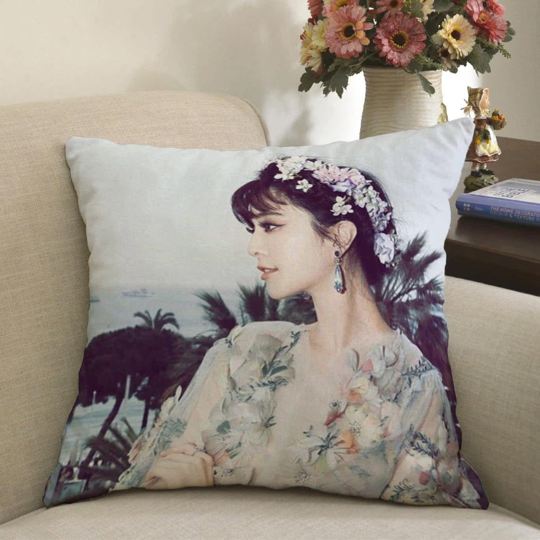 Boutique di Moda Fan bingbing cuscino personalizzata con il paragrafo modificato per la mappa di cuscini del divano semplice Contorno Foto di diversi Record