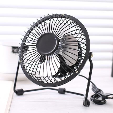 4 inch mini mini fan, USB mini fan, cold mute small electric fan, student desk plug electric fan