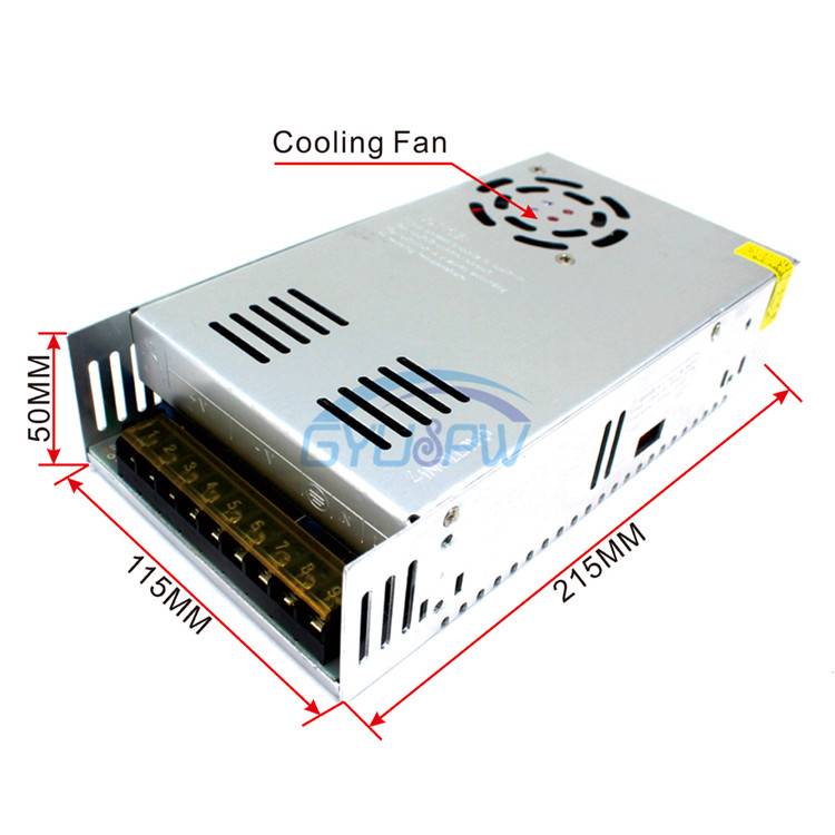 Direct selling 48V8.3A400W switching power supply, 48V400W stepper motor, motor power transformer