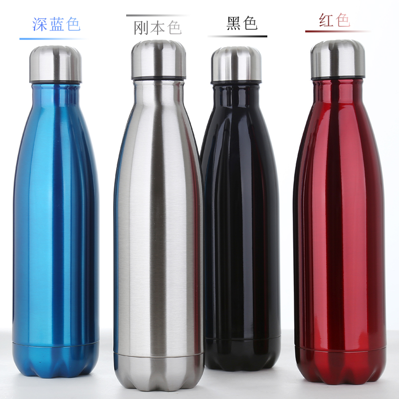 Bowling thermal cup, warhead originality, female personality, outdoor student cola bottle, vacuum stainless steel cup