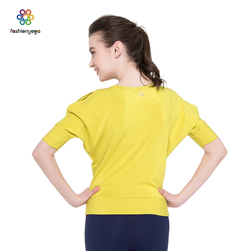 Where the holy Yoga Yoga Fitness section modal female T-shirt F06307 no special offer Yoga pad