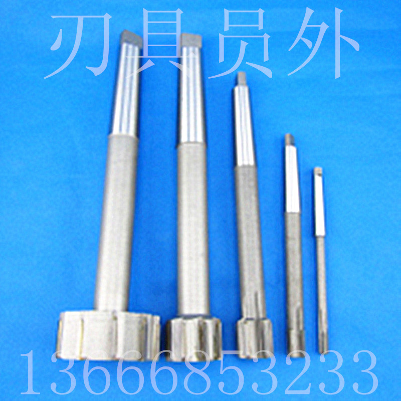 Non standard made straight shank taper shank lengthened machine reamer, alloy lengthened reamer, Phi 12 x 250300400500