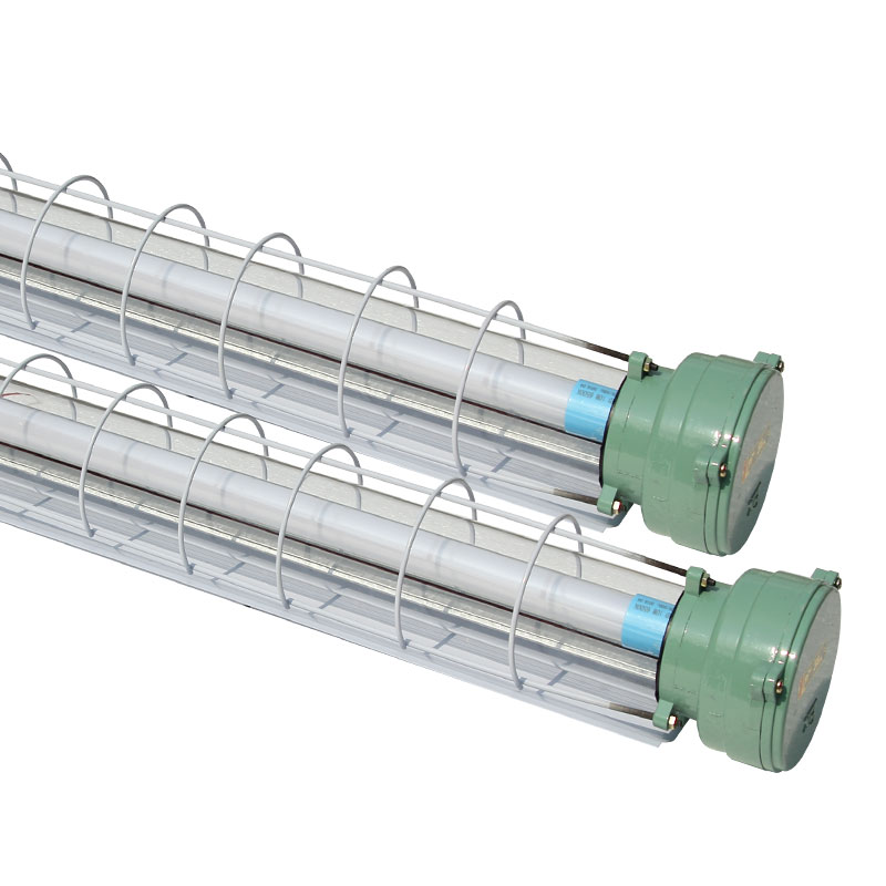 Single tube 2X40 explosion proof day X40 fluorescent lamp, 1W anti light lamp warehouse lamp three Liming W double tube new LED explosion proof