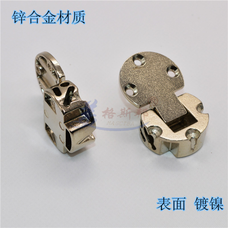 Thickened flat hinge, turnover plate hinge, flat hinge door, hinge hidden hinge, single hidden type