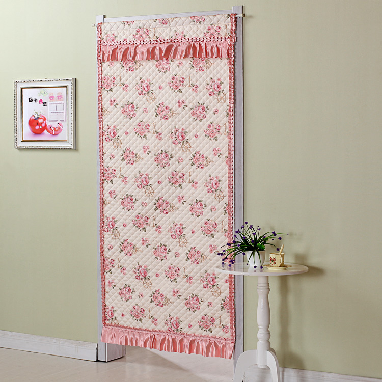 New style cloth autumn and winter cotton door curtain, long windproof cotton door curtain, air conditioning house thick door curtain