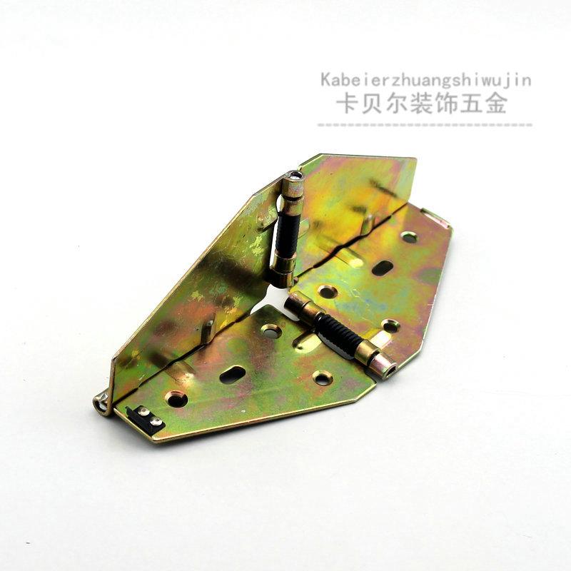 包郵スプリング十字剪む蝶ヒンジ食卓折りたたみヒンジ翻板機のヒンジ食事台ヒンジ円卓ヒンジ