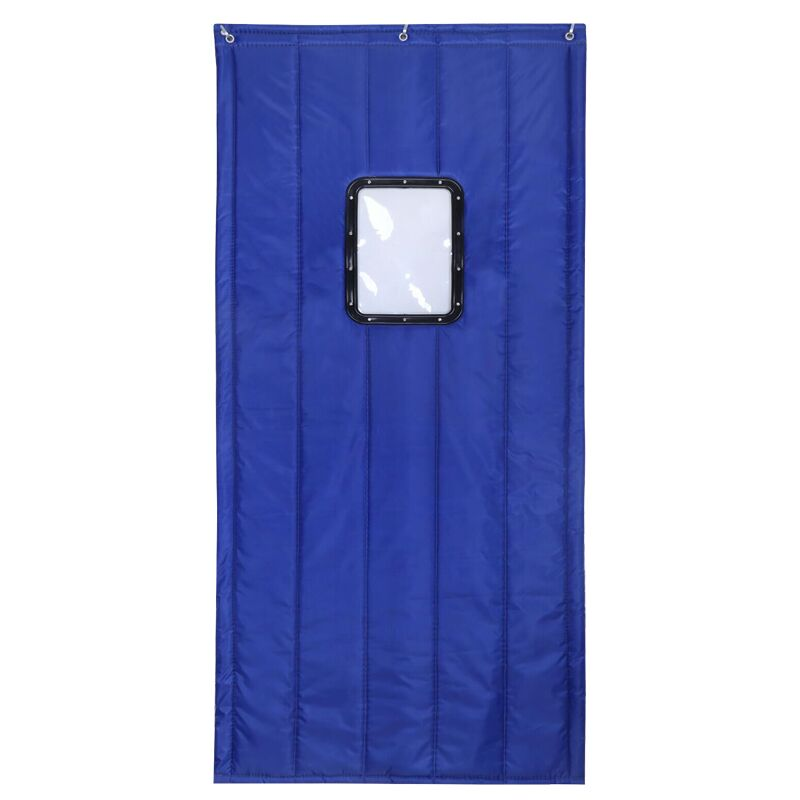 Free shipping custom leather cotton curtain household air-conditioning curtain cold storage insulation waterproof insulation thickening