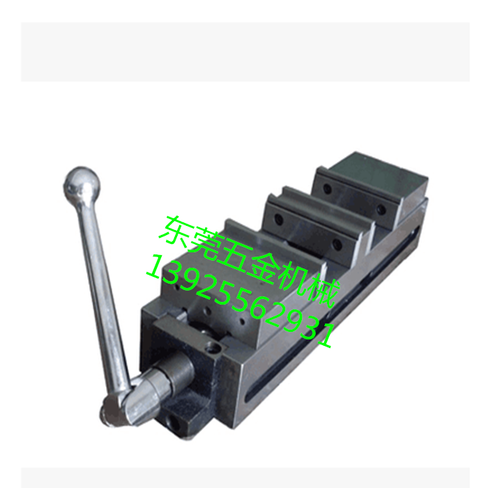 Bidirectional two-way clamping clamp double milling vise vise opening milling machine batch machine vise