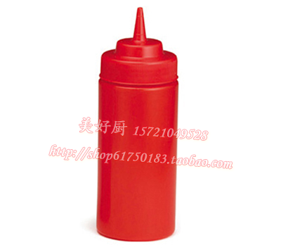 The import of plastic bottle decorating mouth squeeze squeeze pot sauce sauce pot of chocolate sauce bottle squeeze bottle jam bottle of tomato salad